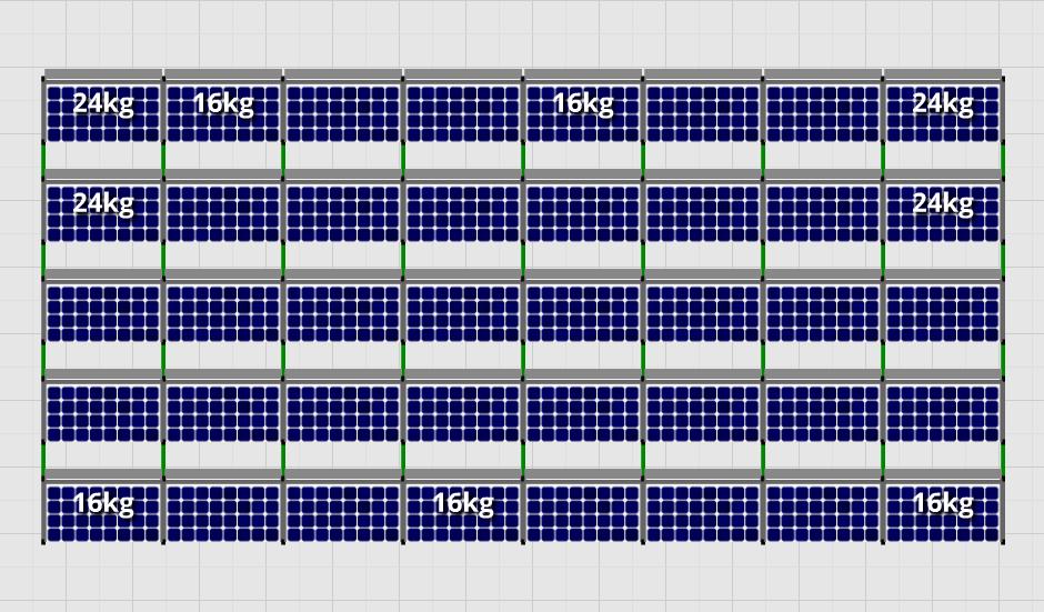 Flatfix Fusion sets Flatfix Fusion set 5 rijen van 8 panelen zwart