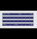 Flatfix Fusion sets Flatfix Fusion set 4 rijen van 8 panelen zwart
