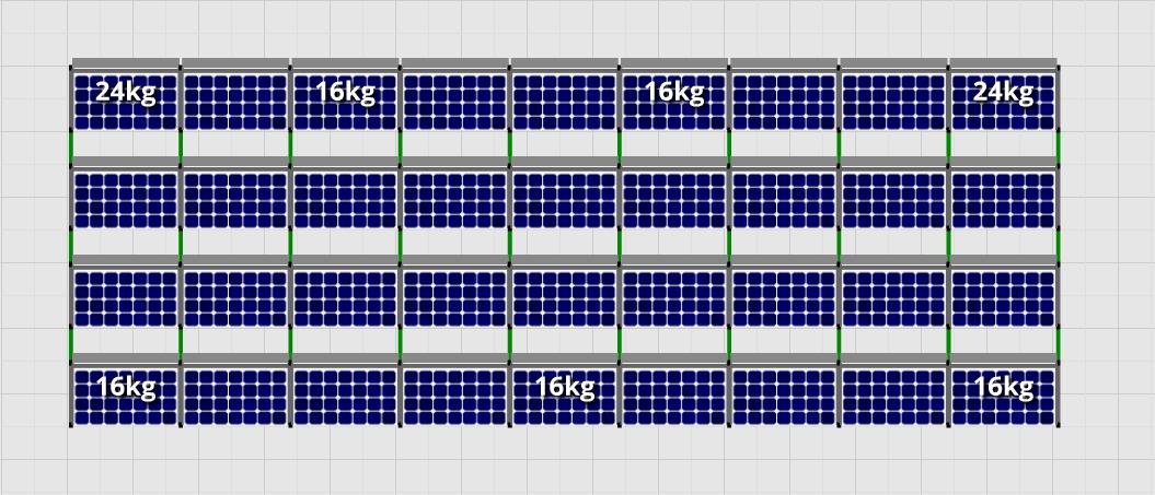 Flatfix Fusion sets Flatfix Fusion set 4 rijen van 9 panelen zwart