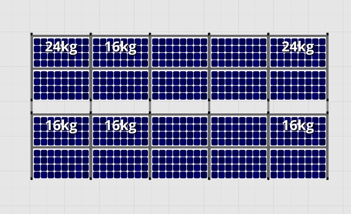 Flatfix Fusion sets Flatfix Fusion set 2 rijen van 10 panelen aluminium oost/west