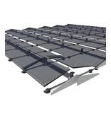 Flatfix Fusion sets Flatfix Fusion set 3 rijen van 2 panelen aluminium oost/west