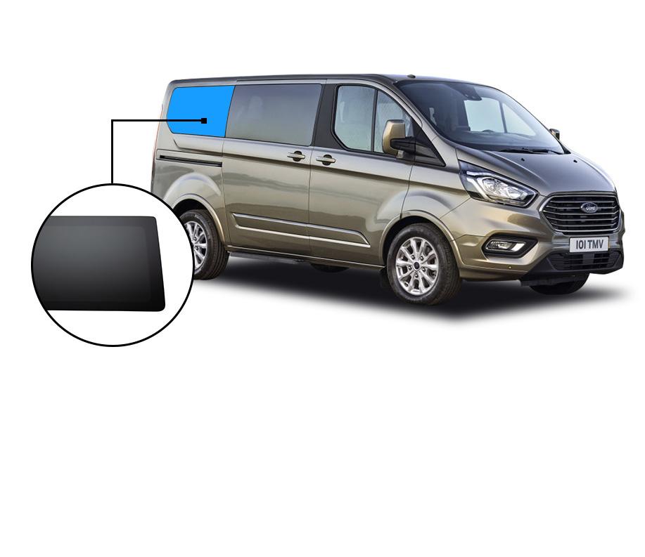 Ford Ford Transit  Custom  LWB C-SEGMENT PRIVACY INBOUWRUIT