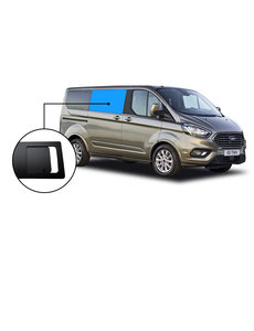 Ford TRANSIT CUSTOM SCHUIFRAAM PRIVACY RECHTS