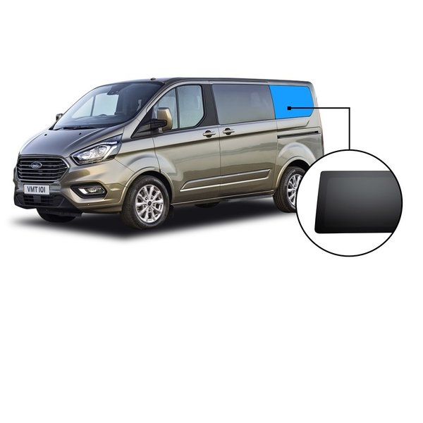 Ford TRANSIT CUSTOM KORT C-SEGMENT PRIVACY INBOUWRUIT LINKS