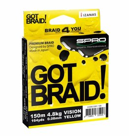 Spro Spro Got Braid 150m Yellow