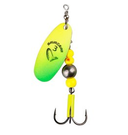 Savage Gear Savage Gear - Caviar spinner - Yellow Chartreuse 18gr.