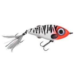 Spro Iris Flash Jerk - 9,5cm  - Redhead tiger - Slow Sinking