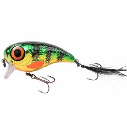 Spro Spro Fat Iris -  6cm en 8cm - Chrome Perch