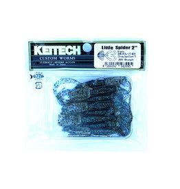Keitech Keitech - Little Spider - 5cm - Bluegill - 8 stuks