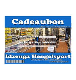 Huismerk Cadeaubon of online kortingscode € 100,-