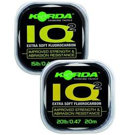Korda Korda IQ2 Extra Soft Fluorocarbon 20LB