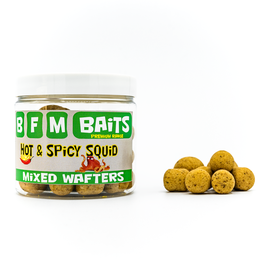 BFM Baits BFM Baits - Mixed Wafters - Hot & Spicy Squid