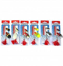 Ondex Ondex Tandem Spinners 10cm - (diverse kleuren)