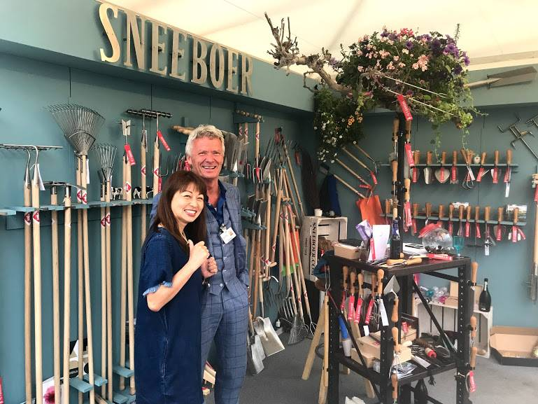 Sneeboer at the RHS Chelsea Flower Show 24 – 28 May 2018