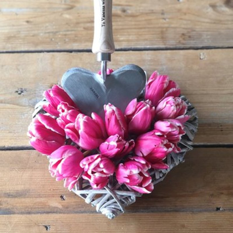 Heart Shaped Trowel Valentines day