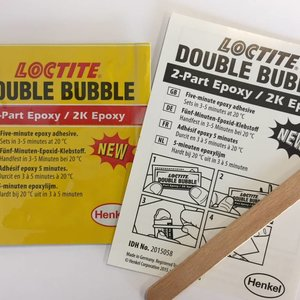 Kleber Locktite Double Bubble
