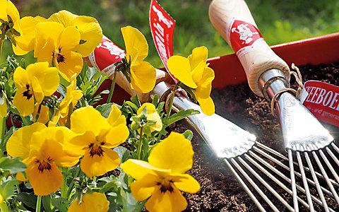 Gartentage bei Manufactum in Waltrop. Im April 2019