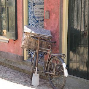 Sneeboer Vintage Pelle bêche avec repose-pied Limited Edition