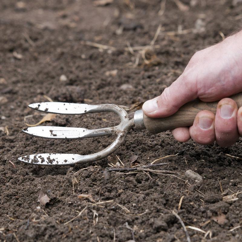 Sneeboer Hochbeet Handgabel mit 3 zinken