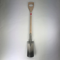 Sneeboer Narrow Spade with steps  D-Handle