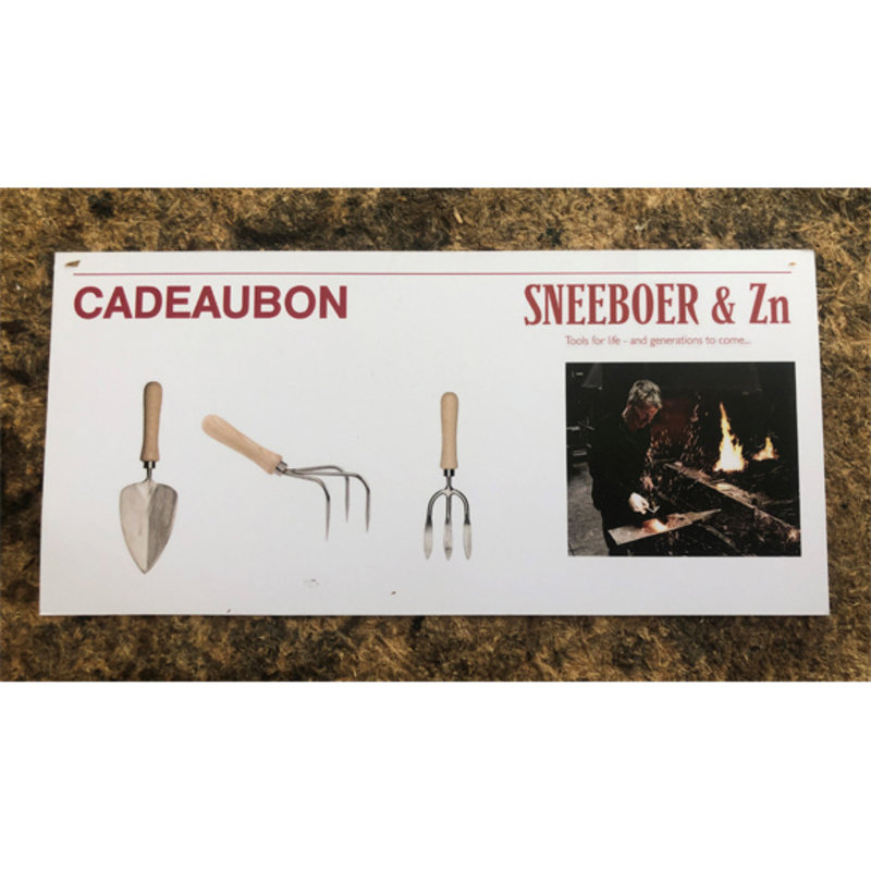 Sneeboer Kadobon