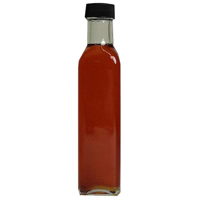 Bouteille d'huile de lin