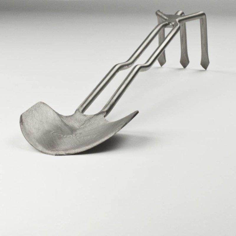 Combination pelle & râteau à main