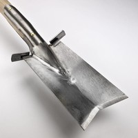 Sneeboer Transplanting Spade with steps LUXE