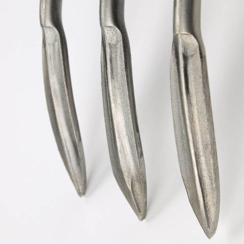 Sneeboer Fourche à main 3 dents