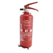 Poeder brandblusser 2 kg abc nl + manometer