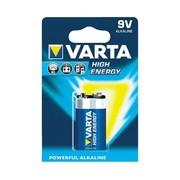 Alkaline 9 V 4922 high energy Varta (10 stuks)
