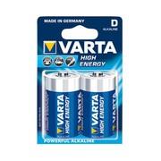 Alkaline 1.5 V D mono 4920 high energy Varta (10 stuks)