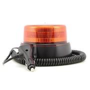 LED Zwaai/flitslamp oranje 8 patronen Magneetmontage 3m kabel en sigarettenplug ECE R65