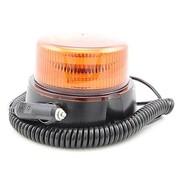 LED Zwaai/flitslamp oranje 1 patroon Magneetmontage 3m kabel en sigarettenplug ECE R65