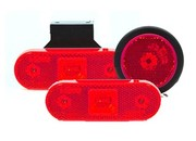 Led markeerverlichting rood
