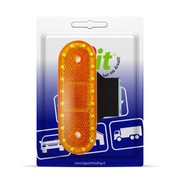 LED Zijmarkeringslamp + steun - Blister