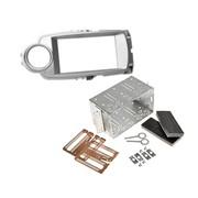 Toyota Yaris 2011> dubbel din voor navigatie met universele kit