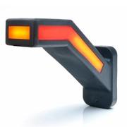 Dynamisch LED breedtelamp NEON (links)