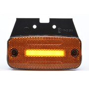 LED zijmarkeringslamp NEON (knipperlicht) + steun - Blister