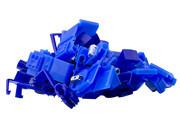 Aftakconnector blauw