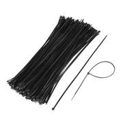 Bundelband  ( T120RW ) zwart 368 x 7,6 mm