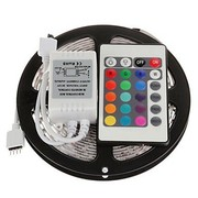 LED STRIP 4,8W 60LEDS/M RGB 5M + REMOTE