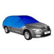 Autopyjama half maat S - blauw  230 X 150 X 50 cm