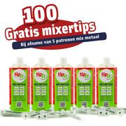 TIP-IT ACTIE MIX METAAL 5 STUKS + 100 MIXERTIPS GRATIS
