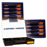 4 Koffers + Module