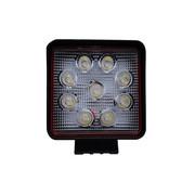 LED WERK LAMP 9X3W 6000K 128X110 1755 LUMEN 12V-24VPRO