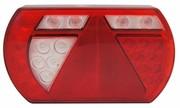 ACHTERLICHT LED 236X140MM. (L) 12V. 5 PIN LUCIDITY