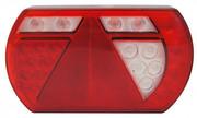 ACHTERLICHT LED 236X140MM. (R) 12V. 5 PIN LUCIDITY