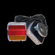 LED ACHTERLICHTSET MAGNEET 12-24V 12M