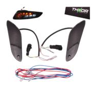 RAW-set Achter LED SQ + Remlicht THNDR Smoke | Vespa Sprint